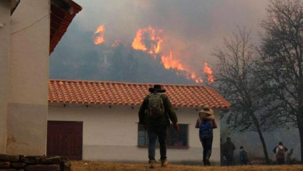 Aprehenden a mujer señalada como la supuesta responsable del incendio en la serranía de Sama