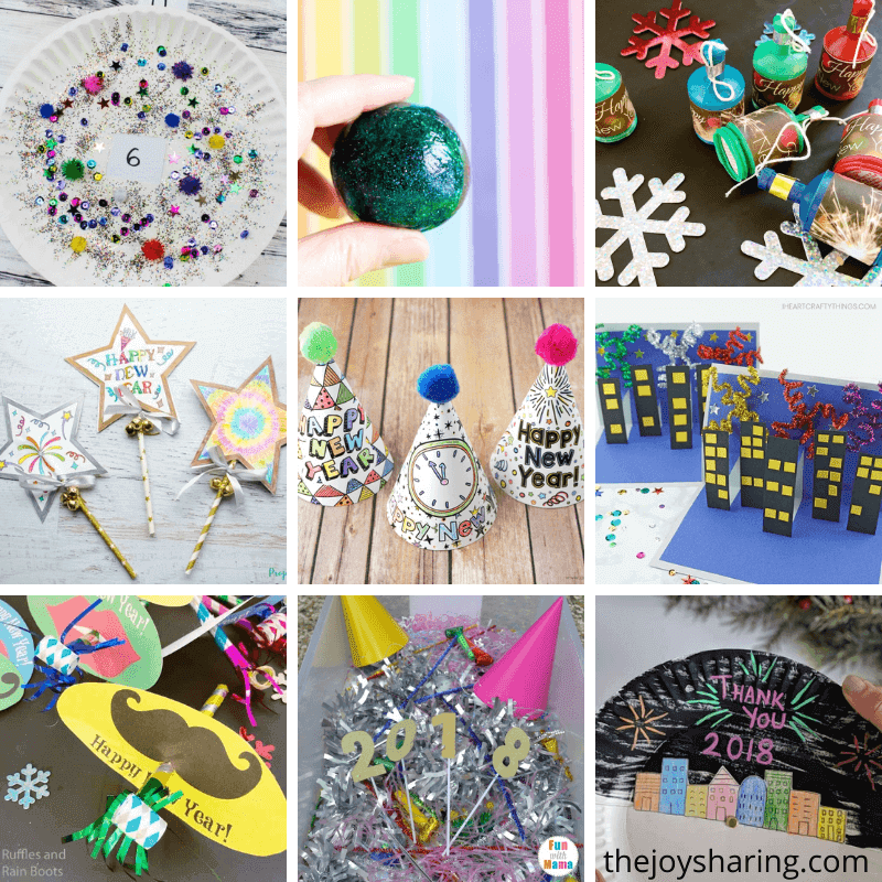 new year eve activities for kids