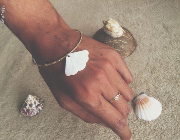 Hokee Paris bracelet jonc Ariel de la Collection Nacre