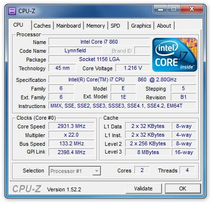 CPU-Z - Δωρεάν λογισμικό για να μάθεις το Hardware του υπολογιστή σου