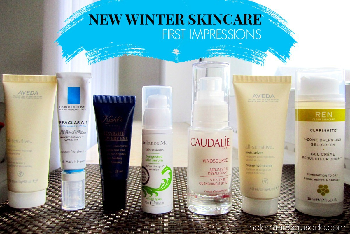 New Winter Skincare - First Impressions