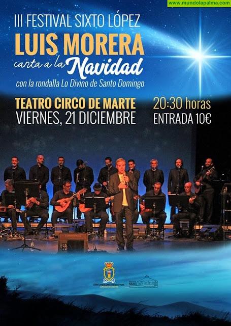 Luis Morera y la rondalla de Lo Divino de Santo Domingo protagonizan el III Festival Sixto López