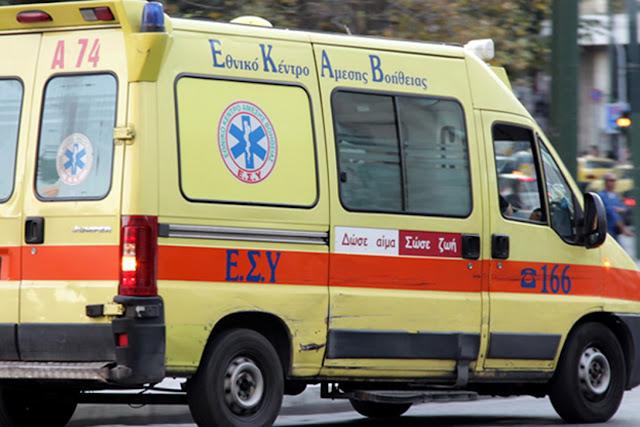 Ίλιον: Τροχαίο ατύχημα με τραυματισμό δύο ατόμων
