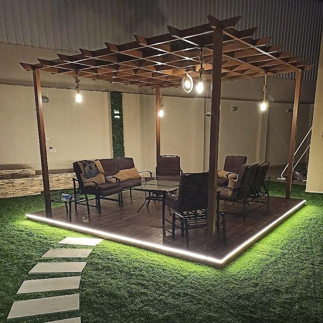تنسيق حدائق خميس مشيط تصميم أحواش منزلية
