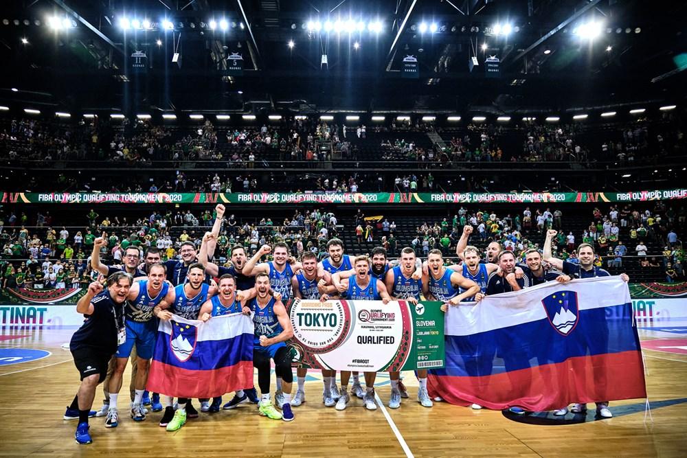 Eslovênia venceu a Lituânia e conquistou a vaga olímpica para Tóquio no basquete