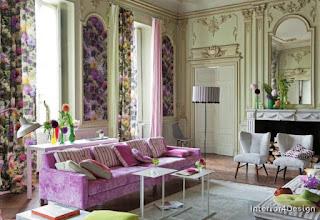 Inscriptions Of Roses In The Interior Design 15