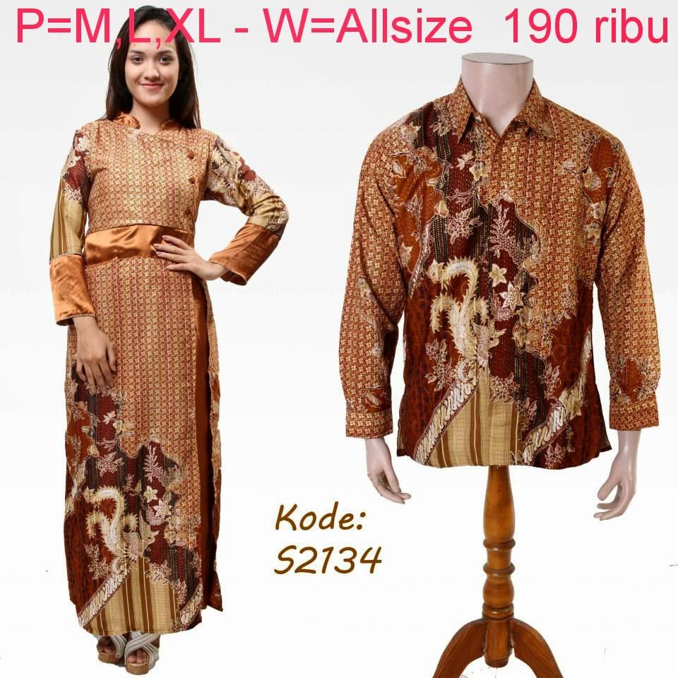 Macam Model Baju Batik: Baju Batik Pasangan Modern Model Trendy