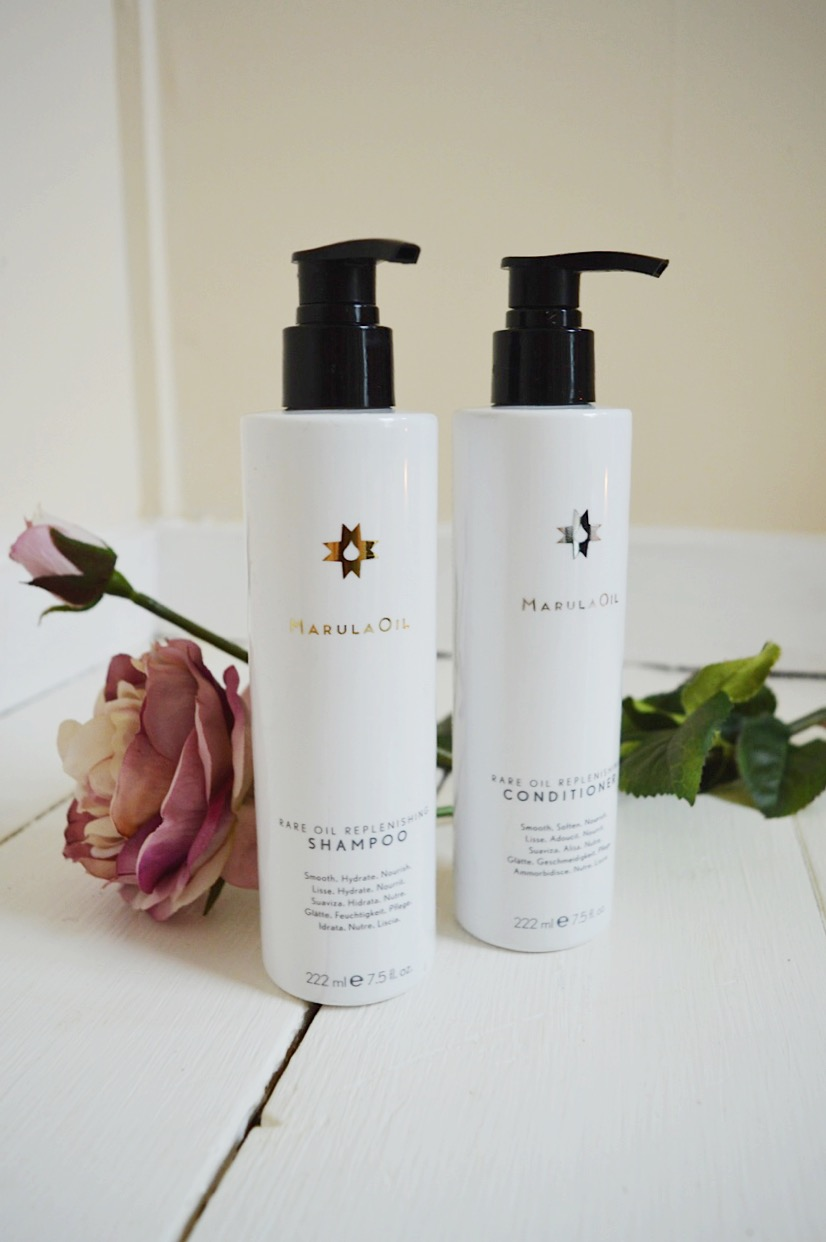 Marula Oil Hydrating Shampoo & Conditioner Review, beauty bloggers, UK beauty blog