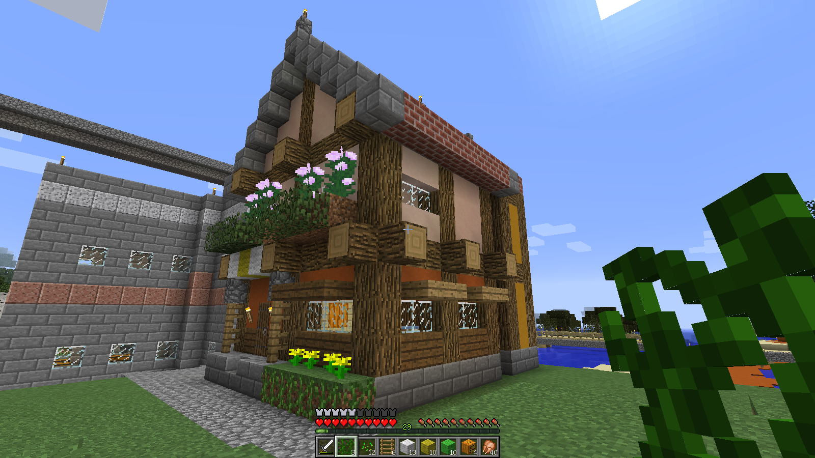 Minecraftの建築