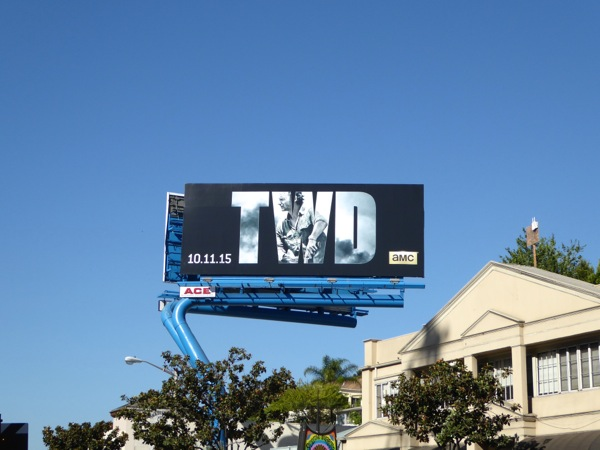 Walking Dead season 6 billboard
