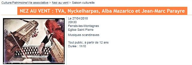 Concert Två, Ferrals-Les-Montagnes (27.04.18)