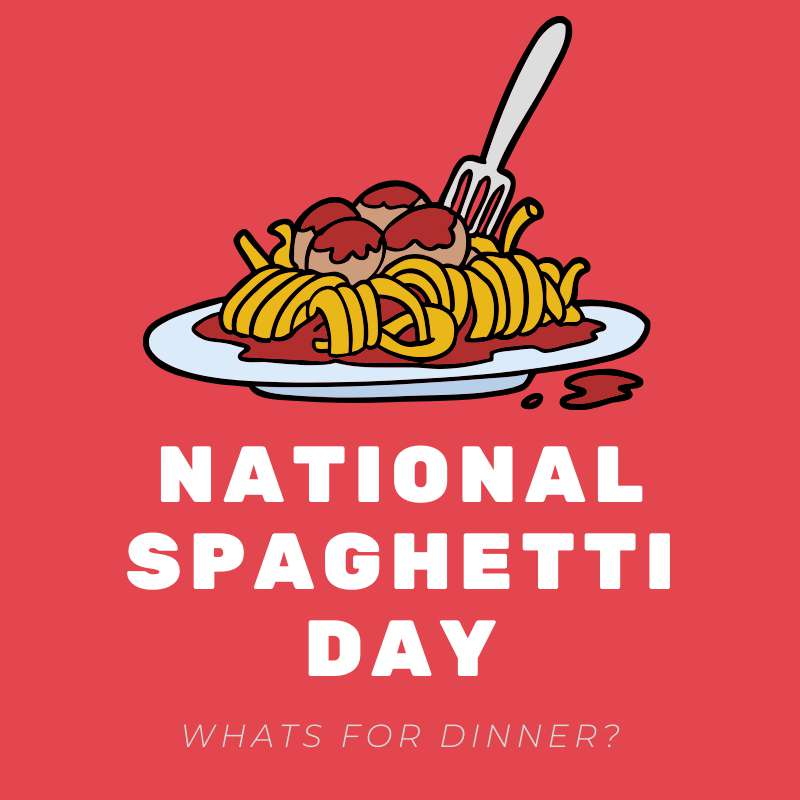 National Spaghetti Day Wishes Lovely Pics