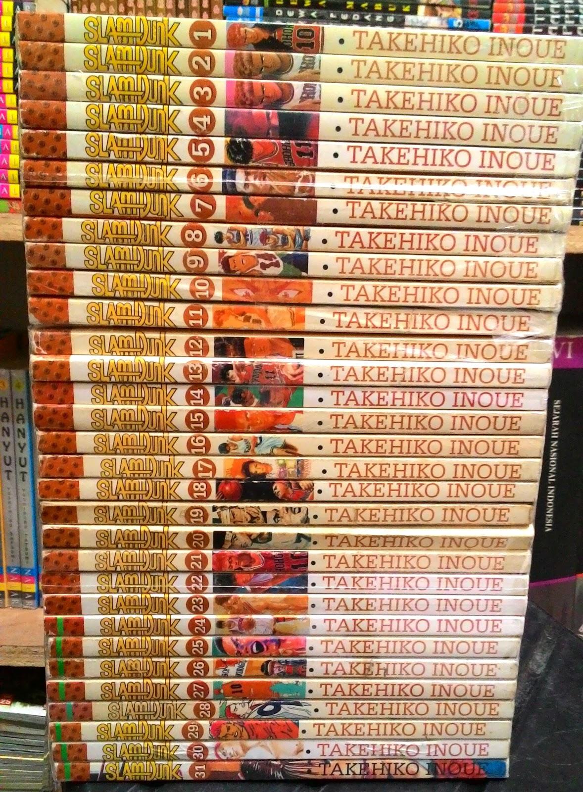Komik Slam Dunk Lengkap Tamat : komik, lengkap, tamat, Komik/Manga, Novel, Online, Komik, Lengkap, Online:, Slamdunk,Bekas, Murah,Komik, Jepang, Basket, Bekas,Murah,Lengkap, ,Online,Slam, Tamat.