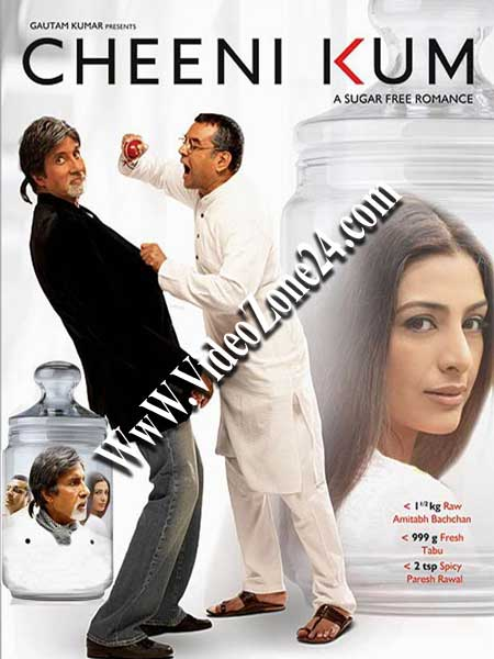 Cheeni Kum 2007 480p BluRay 400MB Poster