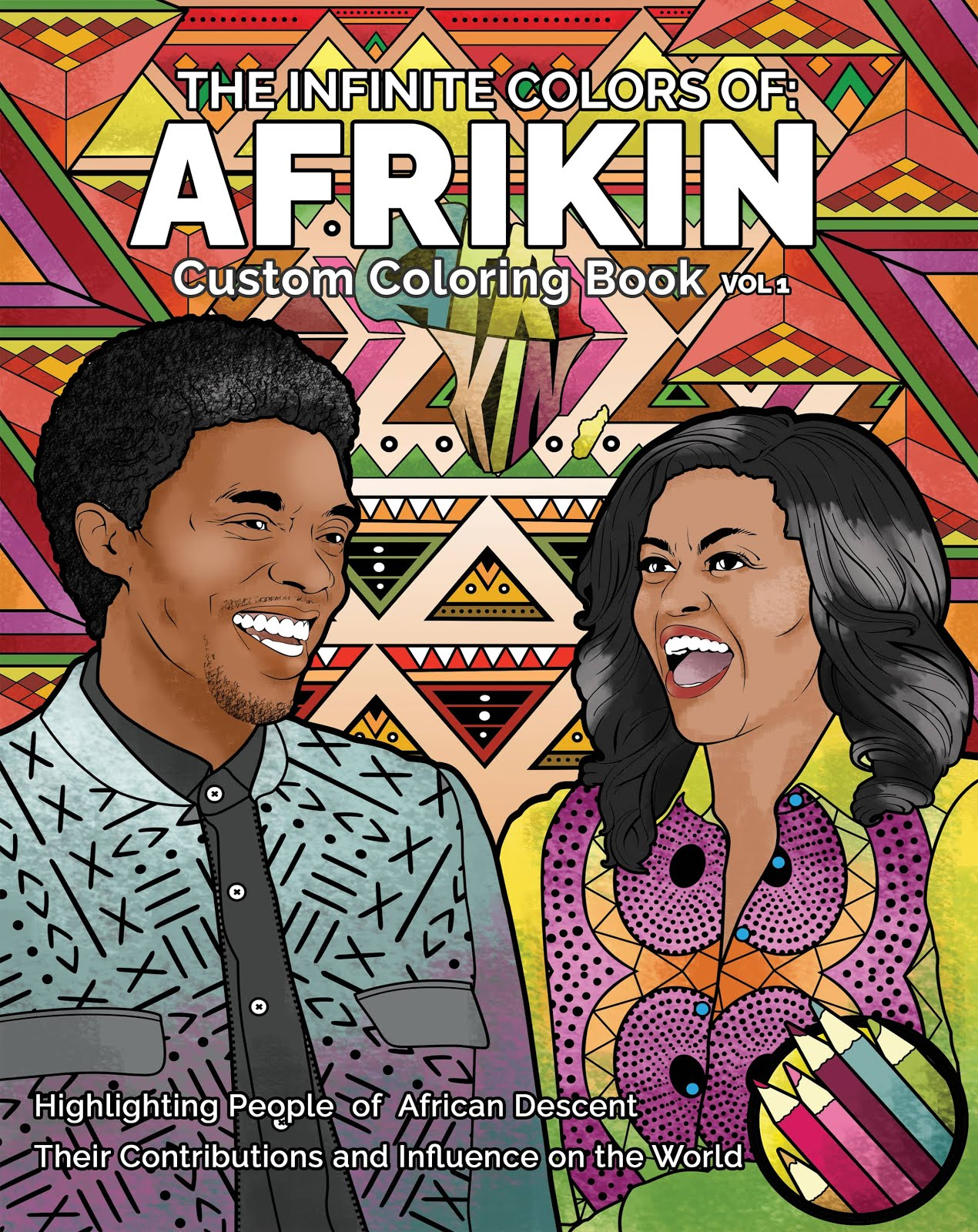 The Infinite Colors of AfriKin Vol 1
