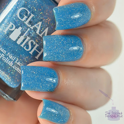 glam polish someday my prince will come swatch