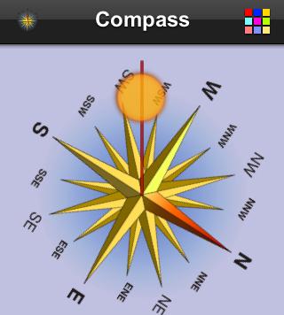 mobile compass digital compass
