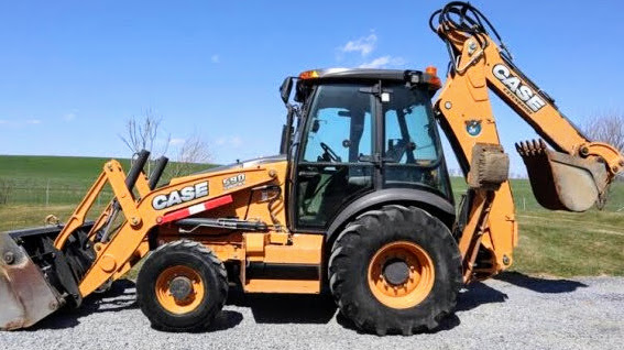 CASE 580N 580SN WT 580SN 590SN Tier 3 Tractor Loader Backhoe