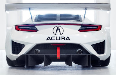 The Acura NSX GT3