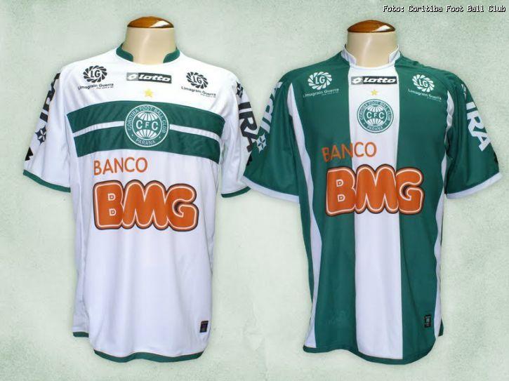 O Coritiba apresentou ontem suas novas camisas para a temporada 2011 1305cfb8dd638