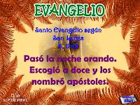 Resultado de imagen para En aquel tiempo, subió Jesús a la montaña a orar, y pasó la noche orando a Dios. Cuando se hizo de día, llamó a sus discípulos