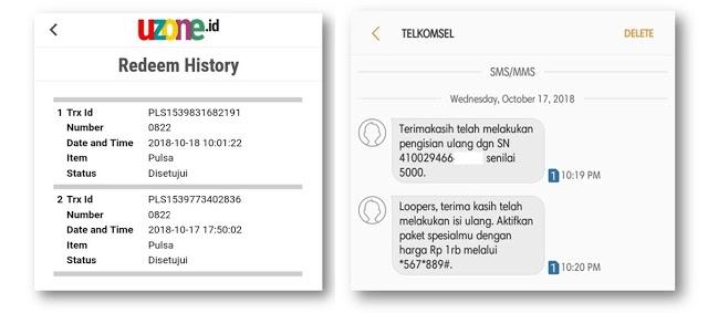 Pake Aplikasi Uzone, dapat Informasi, dapat Pulsa juga lho!