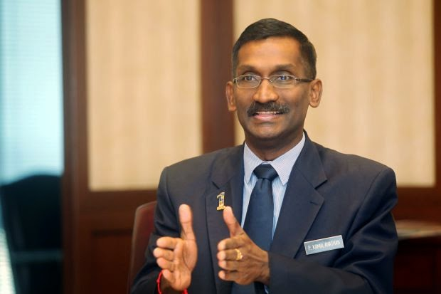 Deputy Education Minister P. Kamalanathan