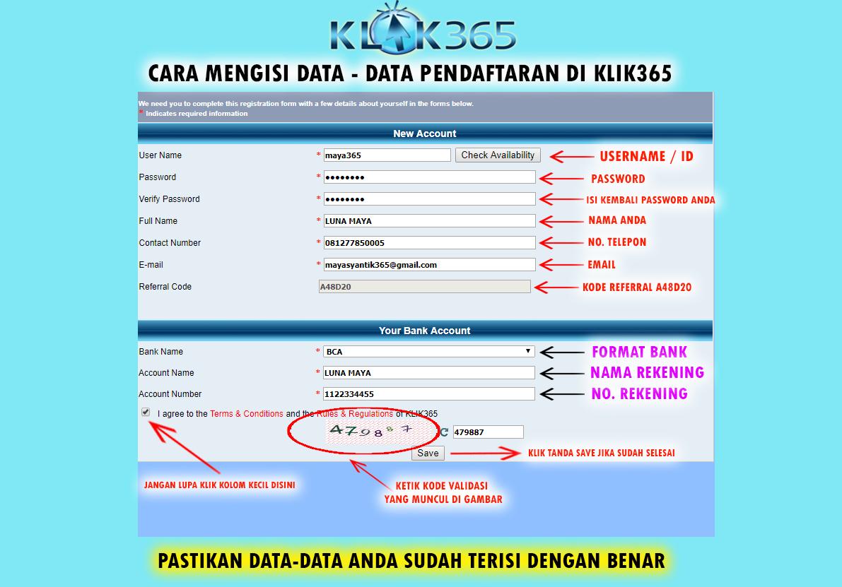 Cara Register Di Klik365 Bandar Bola Agen Judi Bola Terpercaya Bandar Judi Online Bandar Judi Bola Agen Taruhan Bola Situs Judi Online