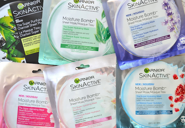 Garnier SkinActive Moisture Bomb Super Hydrating Mask Review