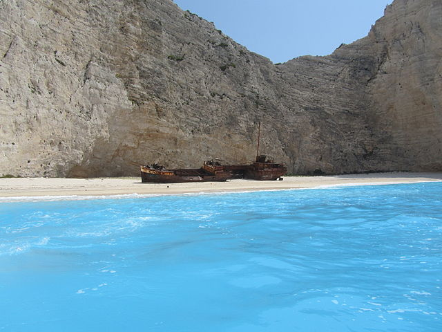 Shipwreck Beaches in Zakynthos