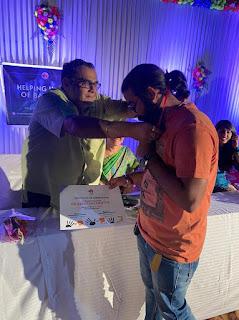 हेल्पींग हैण्ड ऑफ़ बालाघाट ग्रुप के तत्वावधान उल्लास: रंग ख़ुशियों का कार्यक्रम का आयोजन