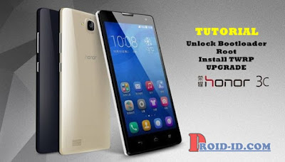 Unlock Bootloader - Full Root - TWRP - Upgrade Huawei Honor 3C H30-U10 Via PC