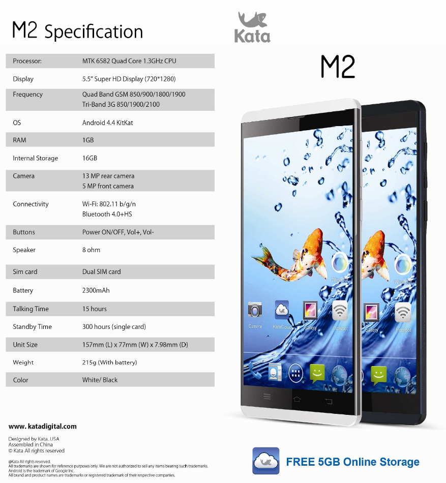 Kata M2: Specs and Features
