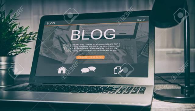 Desain Template Blogger untuk Blog Bisnis dan Portofolio