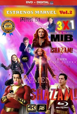 Estrenos Marvel Vol.2 3X1 HD DVD LATINO 5.1