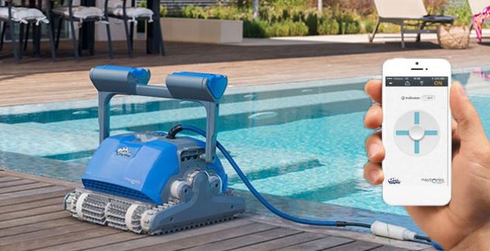 Le blog des professionnels de la piscine et du spa le - Robot dolphin m400 ...