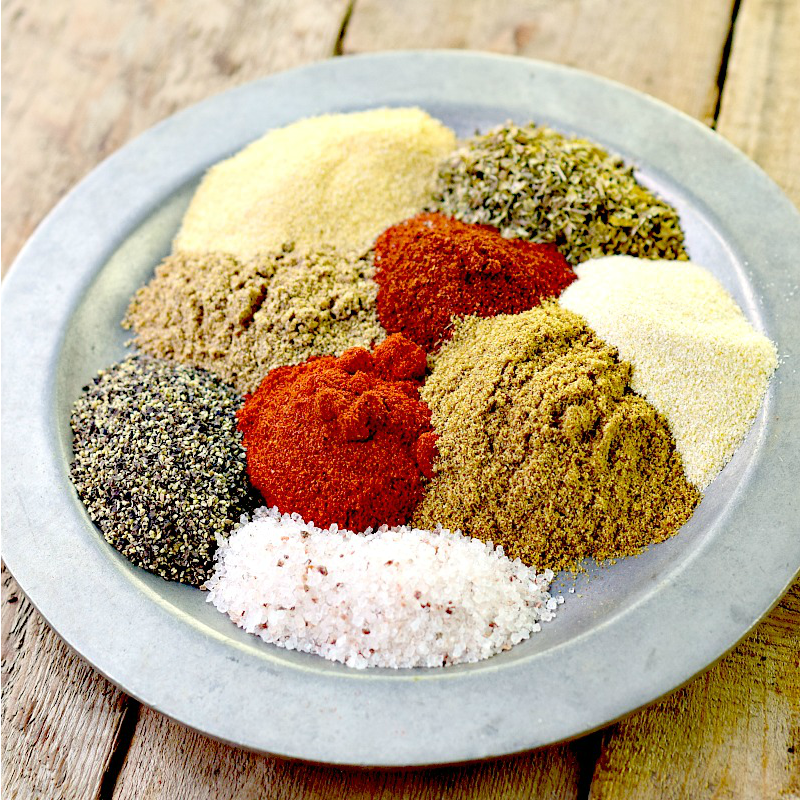 This homemade Mexican Seasoning Blend recipe is so easy to make and very versatile. Use it with chicken, pork, beef, or veggies. Tacos, fajitas and more are waiting to be made! #lowcarb #keto #mexican #spice #DIY #homemade #easy #recipe | bobbiskozykitchen.com