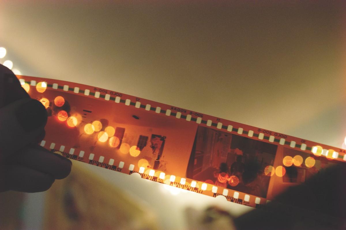 Hasil motret mengunakan kamera Roll film