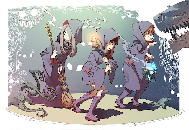 Little Witch Academia: Mahoujikake no Parade Movie Subtitle Indonesia