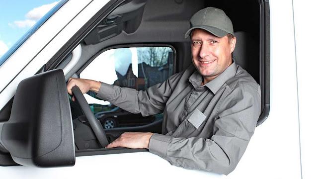 motorista entregador