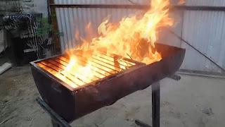 barril para asados