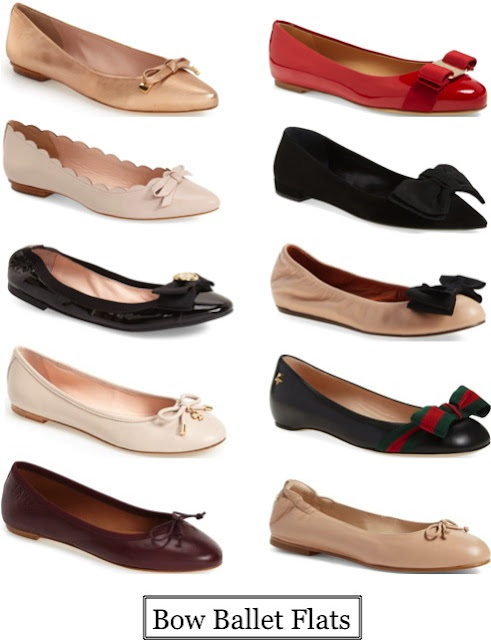 Put a Bow On It: Bow Ballet Flats