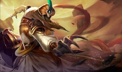 Tướng Azzen'Ka trong vòng Trò chơi Liên quân Mobile
