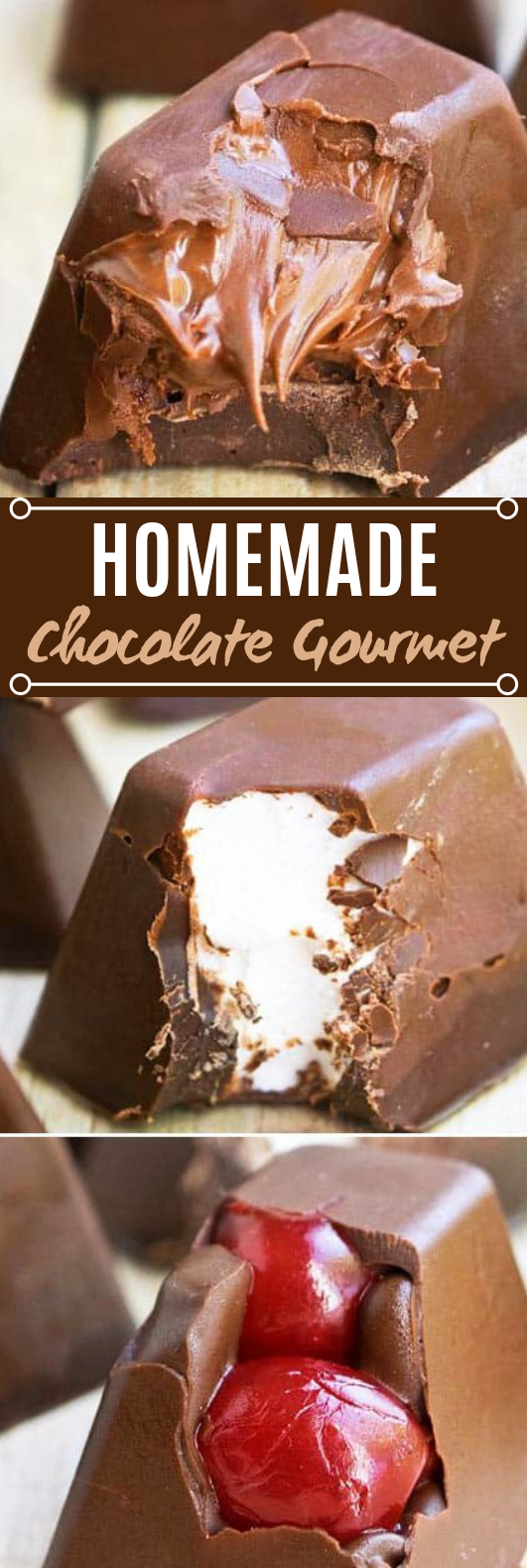 HOMEMADE GOURMET CHOCOLATE #easy #desserts