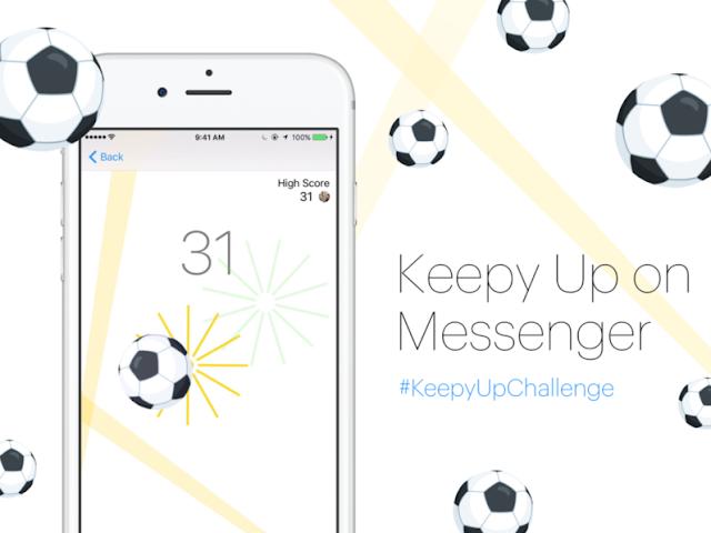كيفية اظهار لعبة كرة قدم في تطبيق ماسنجير و العب مع الأصدقاء