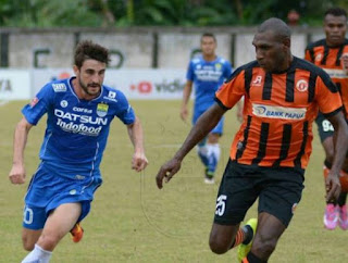 Persib Bandung Kalah 0-1 dari Perseru Serui