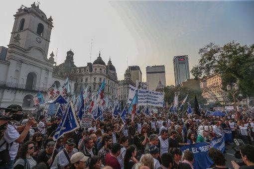 """Marchan en Argentina contra decreto de Macri sobre """"seguridad"""""""
