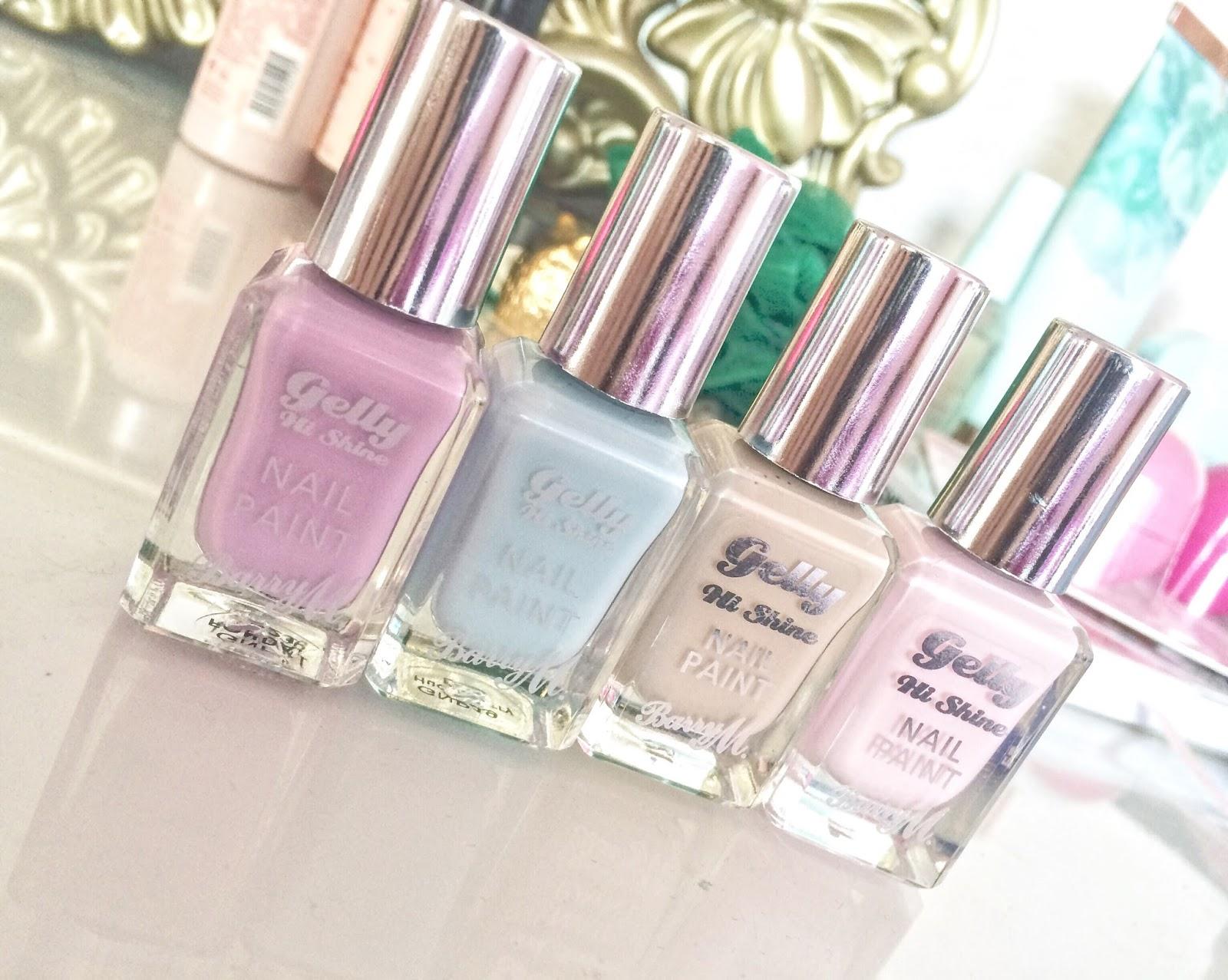 Pretty Pastel Nail Polishes | Barry M