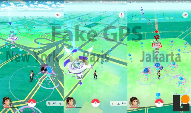 Fake GPS Pokemon GO