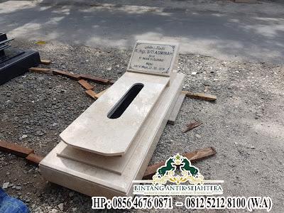 Makam Batu Marmer dan Granit | Model Makam Minimalis Tulungagung
